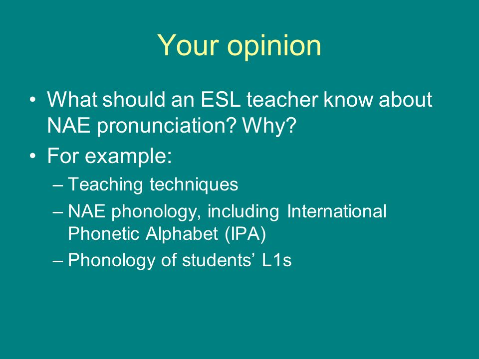 Introduction History of pronunciation teaching - ppt video