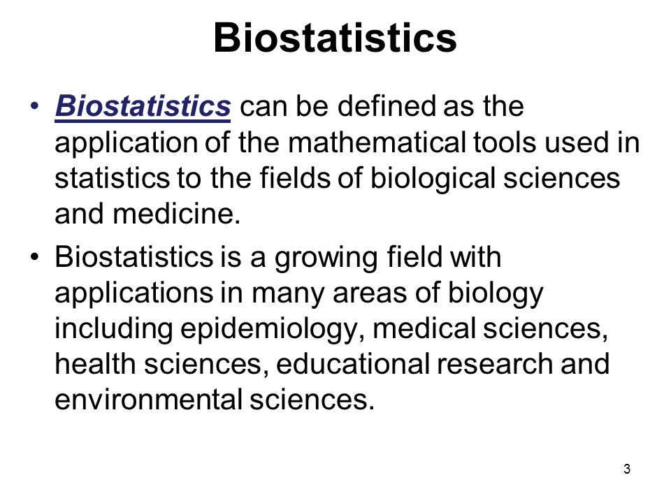 Biostatistics Frank H  Osborne, Ph  D  Professor  - ppt video online