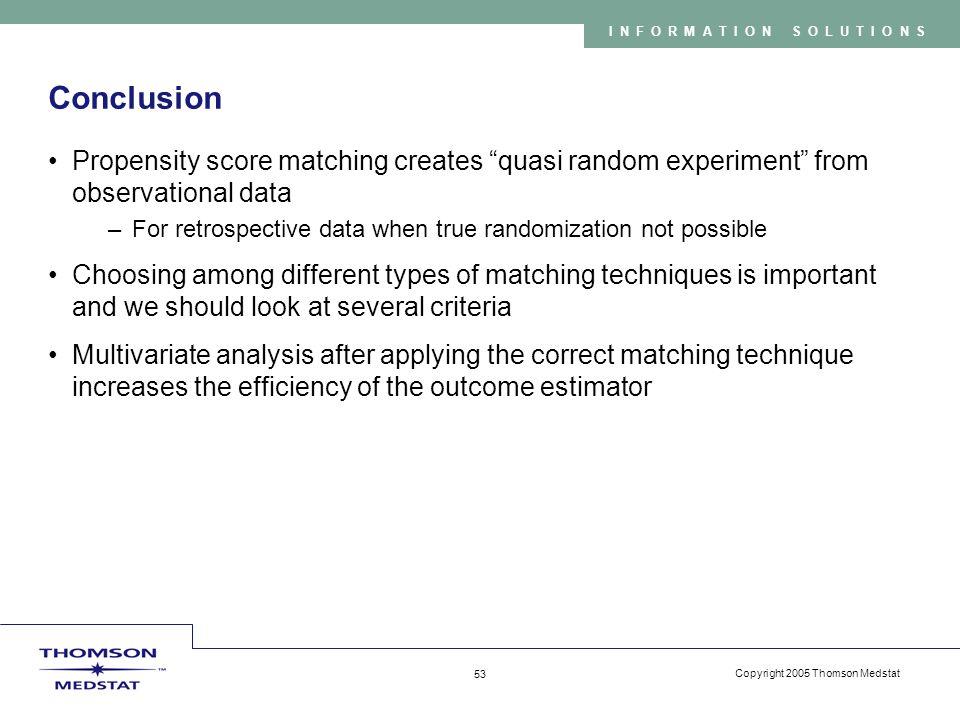 Propensity Score Matching - ppt video online download