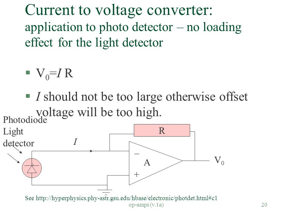 CENG4480_A2 Op Amps and Analog interfacing - ppt video online download