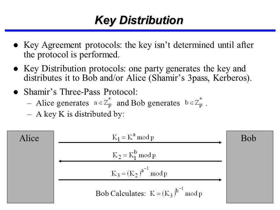 Key Establishment Techniques Key Distribution And Key Agreement