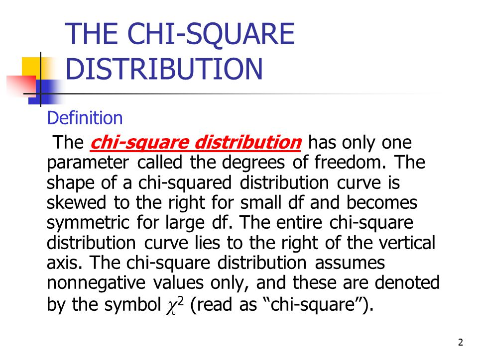 Chapter 11 Chi Square Tests Ppt Video Online Download