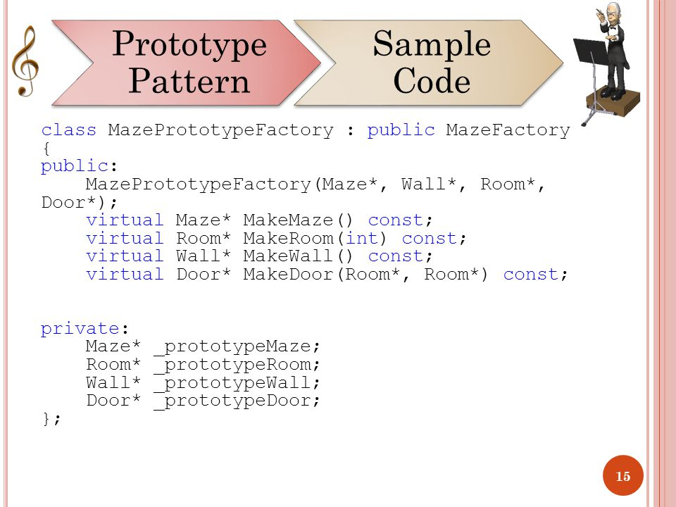 Prototype Pattern Intent: - ppt download