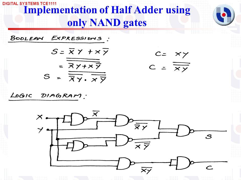 Bcd Adder Circuit Diagram | Design Of Arithmetic Circuits Adders Subtractors Bcd Adders