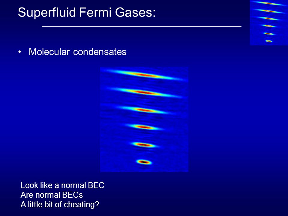 Superfluid Fermi Gases:
