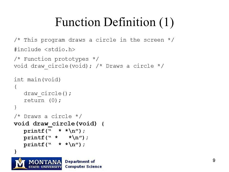 Cs 201 Functions Debzani Deb Ppt Download