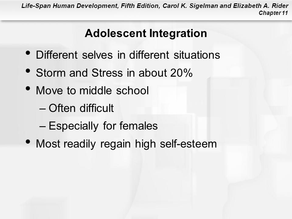 Adolescent Integration