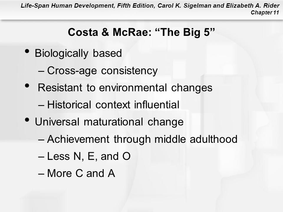 Costa & McRae: The Big 5