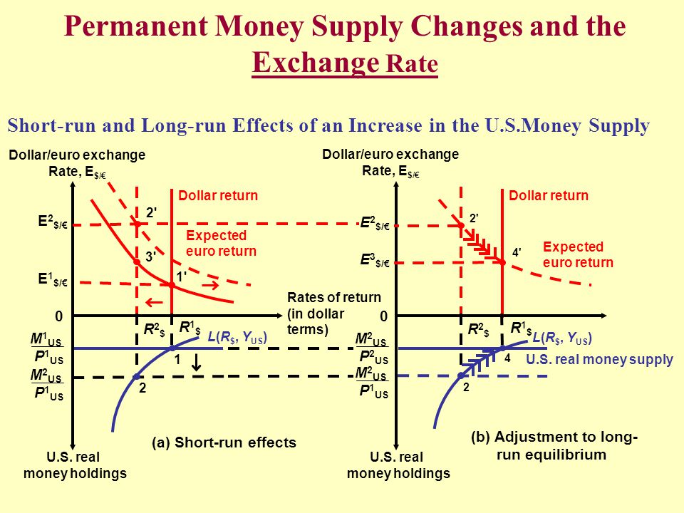Permanent Money Supply Changes And The Exchange Rate