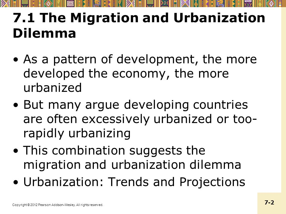 the causes and consequences of rural to urban migration essay Controlling urban (or suburban) sprawl urban sprawl refers to the migration of a population from populated towns and cities to low density residential development over 309 words 2 pages.