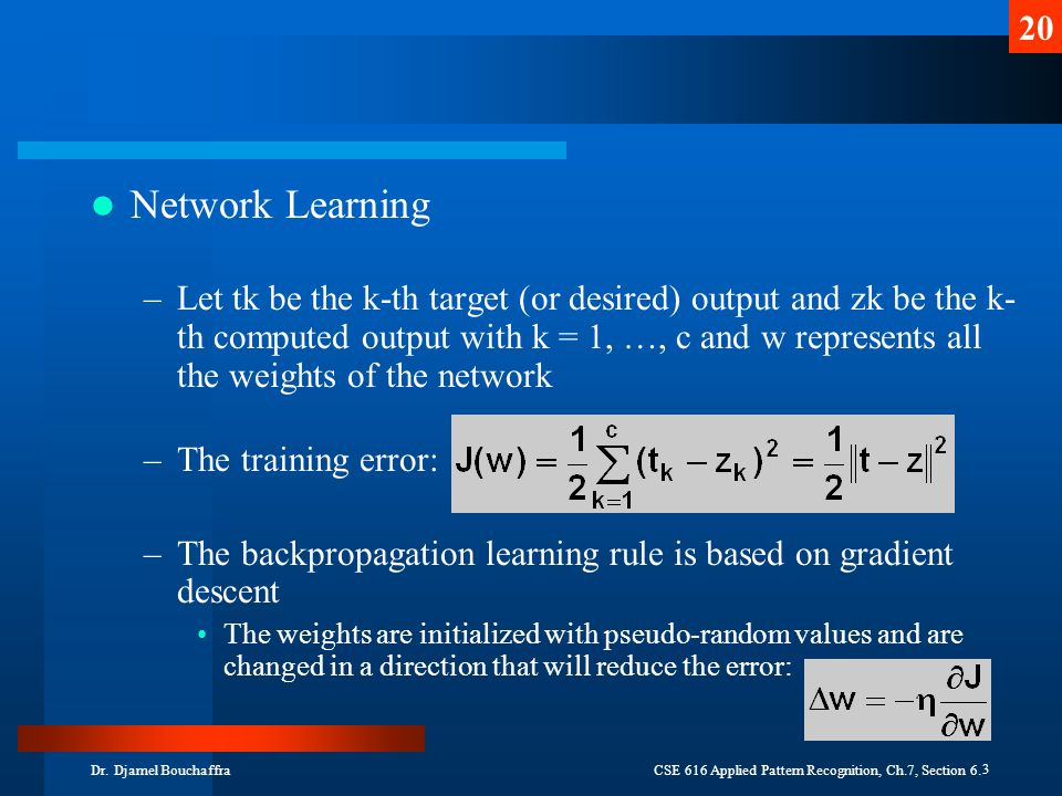 Network Learning