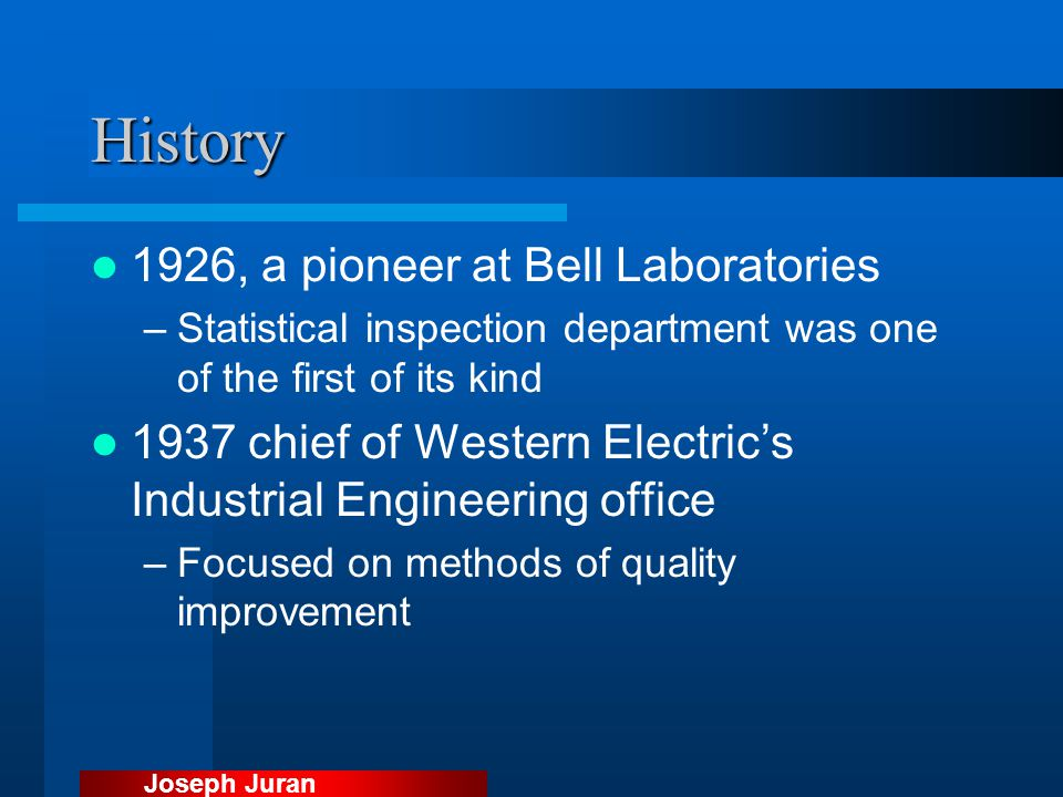 History 1926, a pioneer at Bell Laboratories