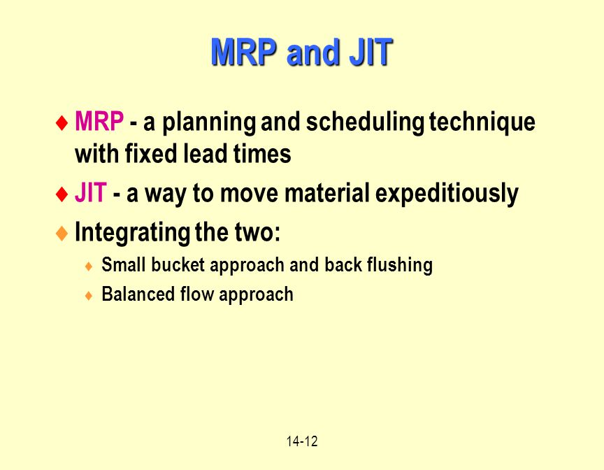 Material Requirements Planning Mrp Ppt Video Online