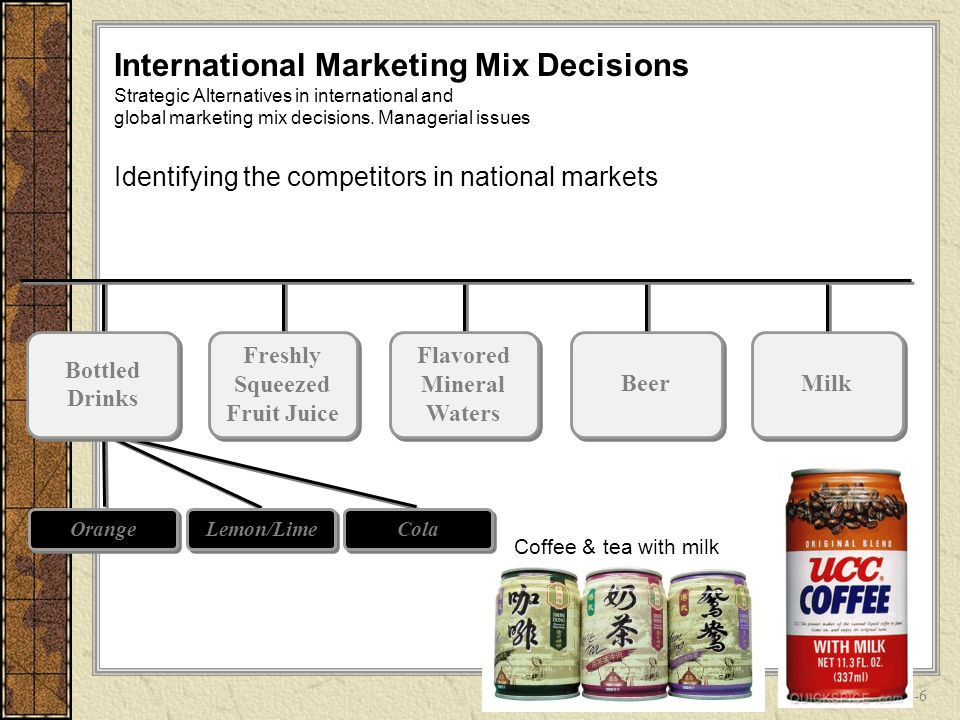 marketing mix of real fruit juice
