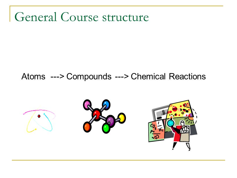General Course structure