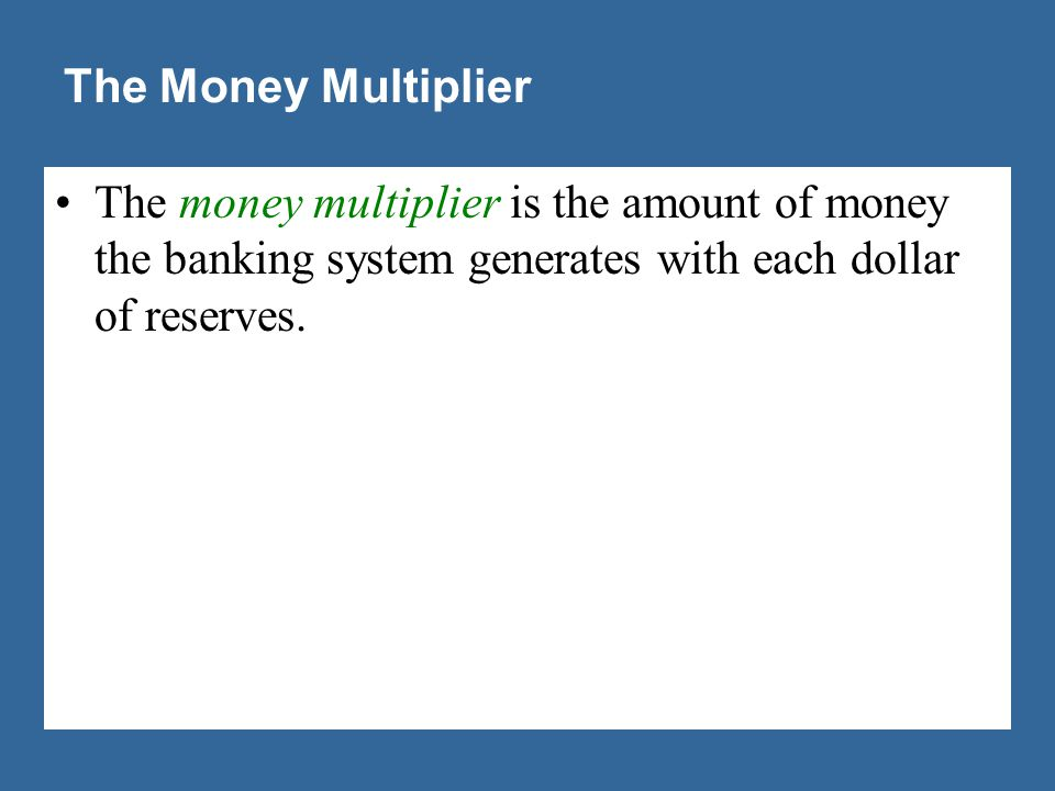 Increase in the Money Supply = $190.00!