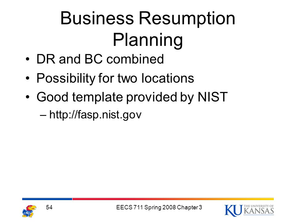 Planning for contingencies ppt video online download 54 business resumption planning accmission Gallery