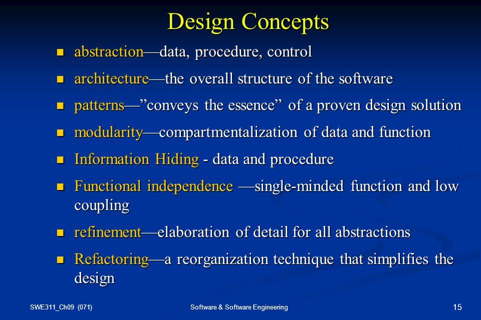 Chapter 9 Design Engineering Ppt Video Online Download