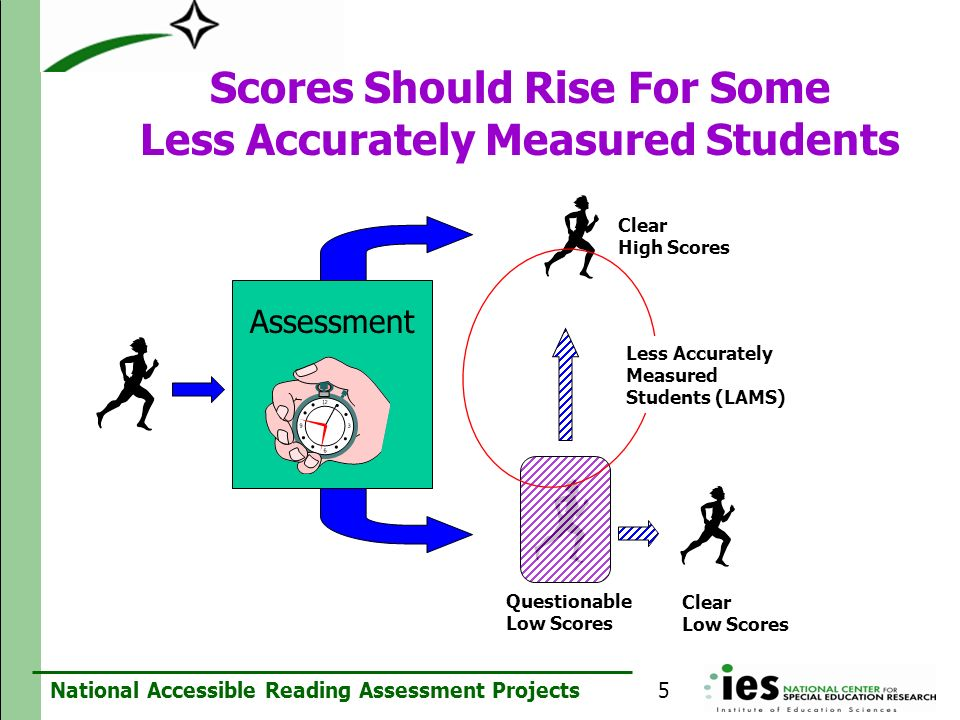 Scores Should Rise For Some Less Accurately Measured Students