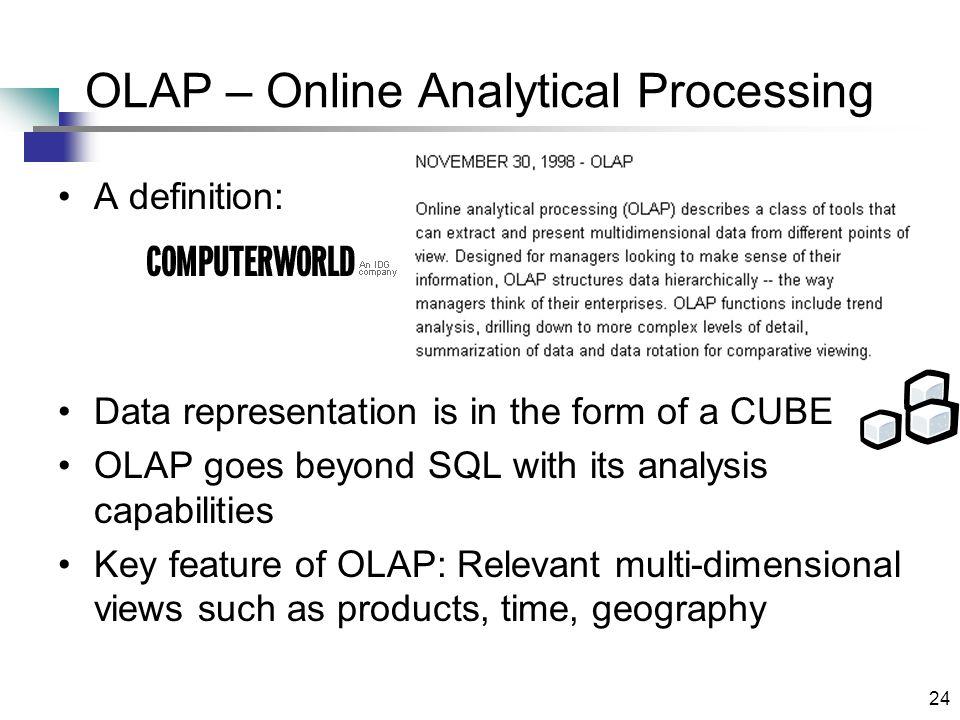Chapter 15 Data Warehousing Olap And Data Mining Ppt
