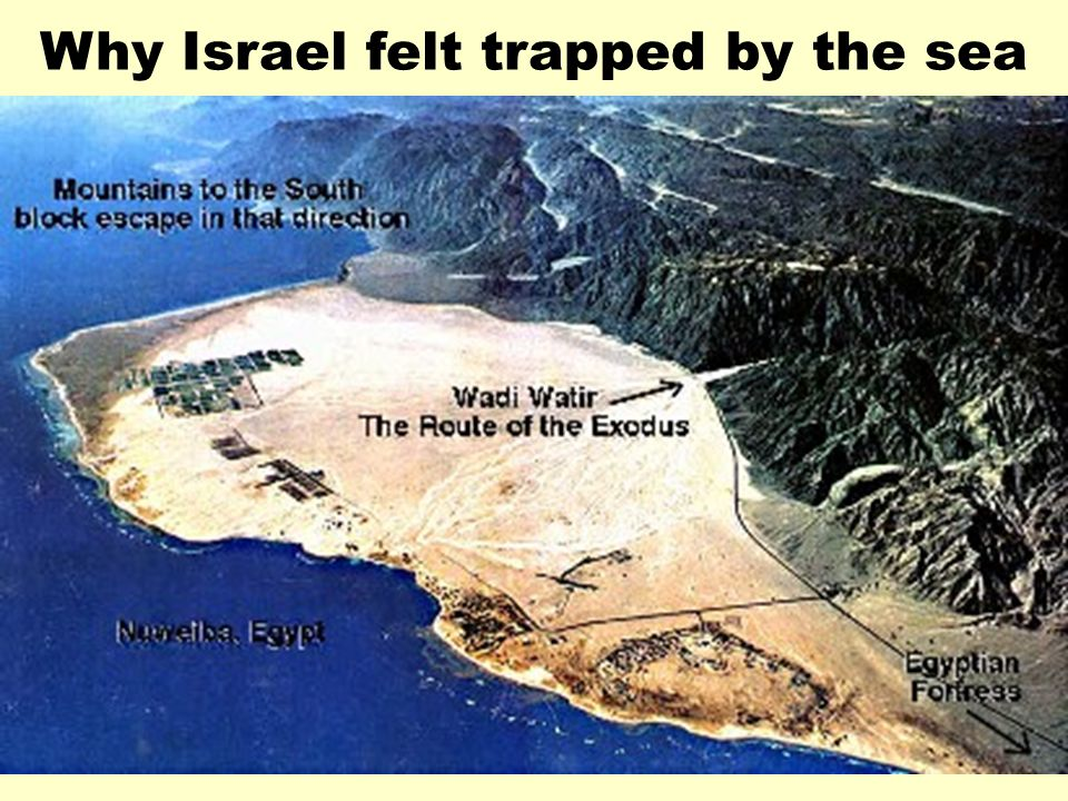 Why Israel felt trapped by the sea