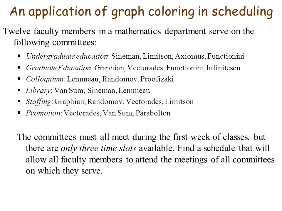 Coloring Graphs This Handout Coloring Maps And Graphs Ppt