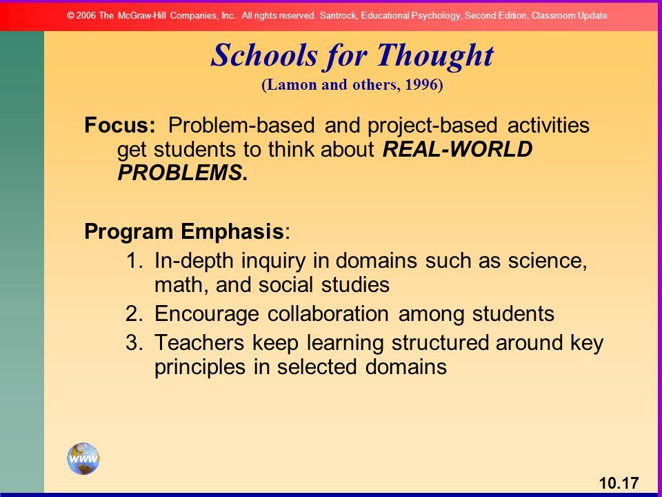 Schools for Thought (Lamon and others, 1996)