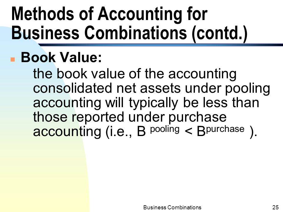Business combination accounting ppt