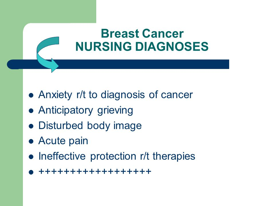 breast cancer Nursing role in