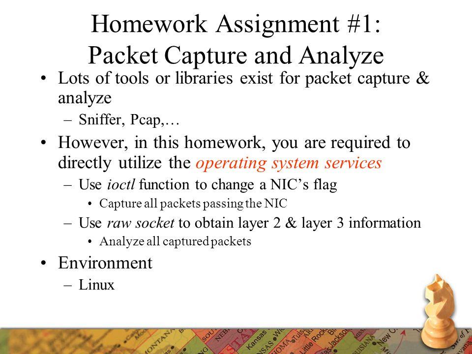 Packet Capture & Analyze - ppt video online download
