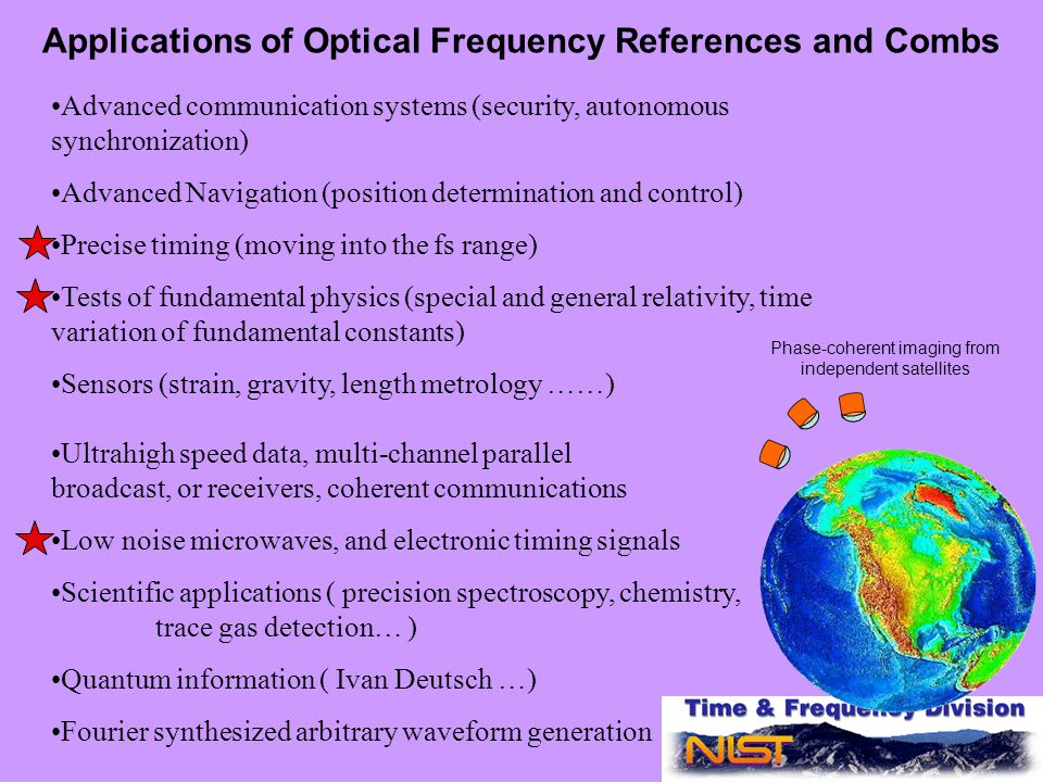 Optical Atomic Clocks for Space - ppt video online download
