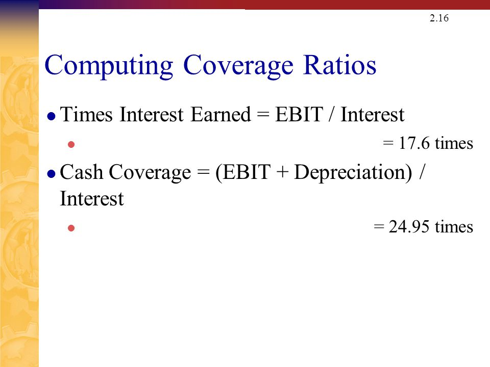 ASSET MGMT RATIOS: Computing Inventory Ratios