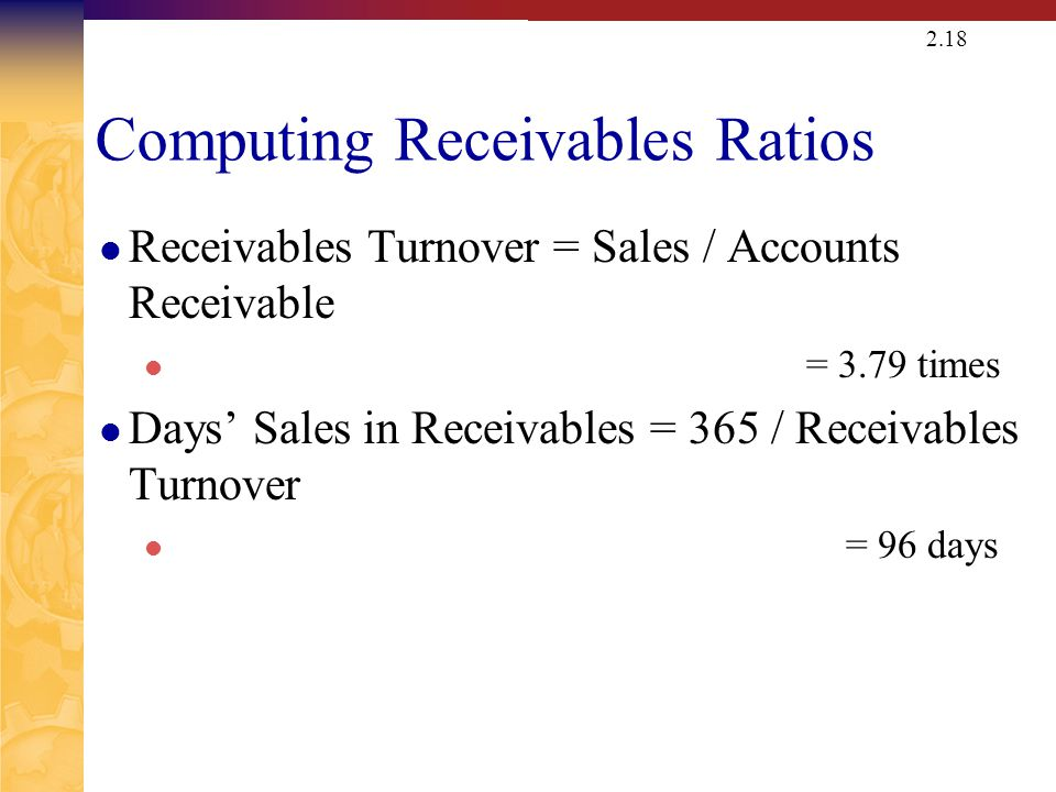 Computing Total Asset Turnover