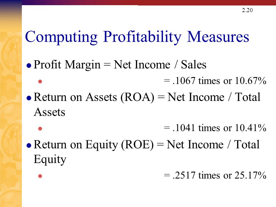 Computing Market Value Measures