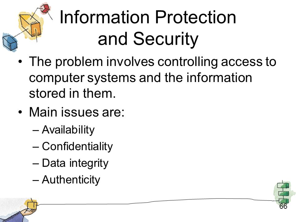 Information Protection and Security