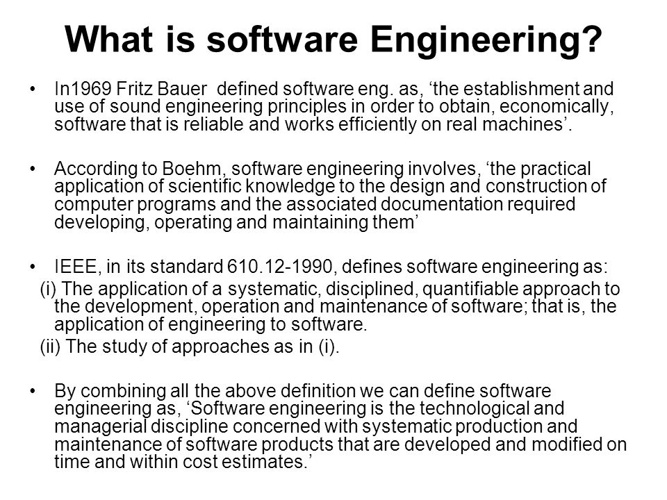 definition of software crisis