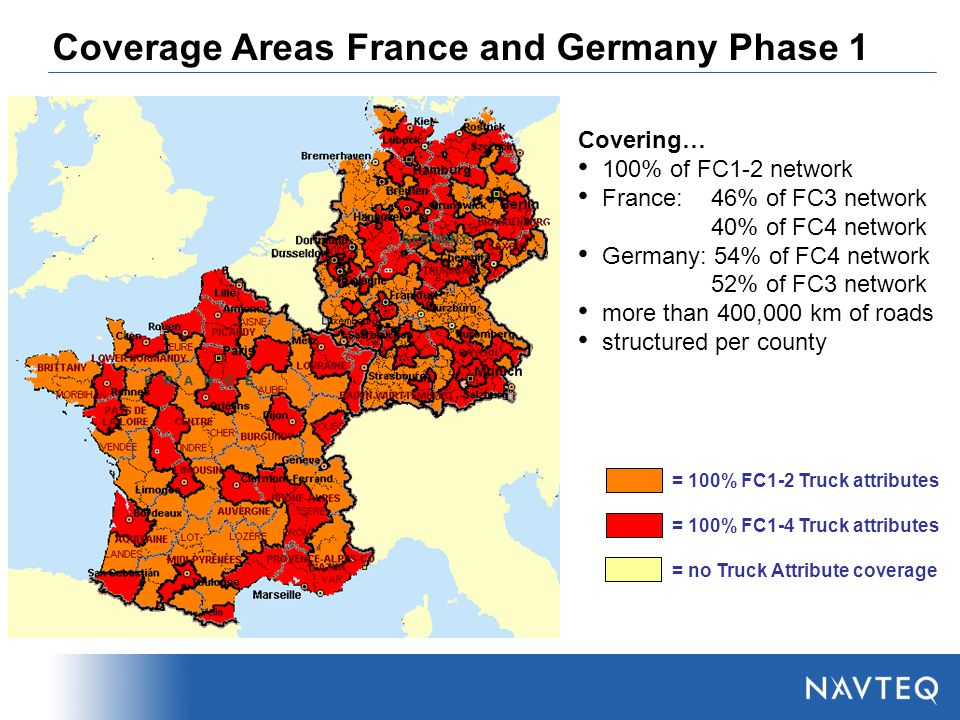 Map Of Areas Of France.Navteq The Global Mapping Company Ppt Video Online Download