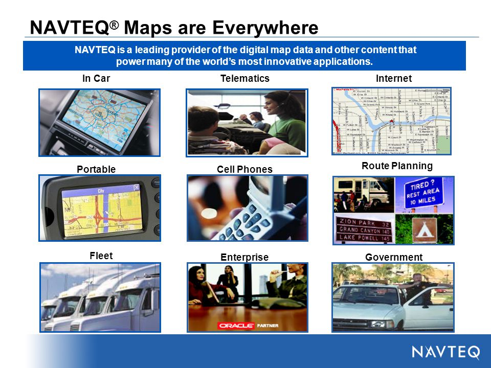 NAVTEQ The Global Mapping Company  - ppt video online download