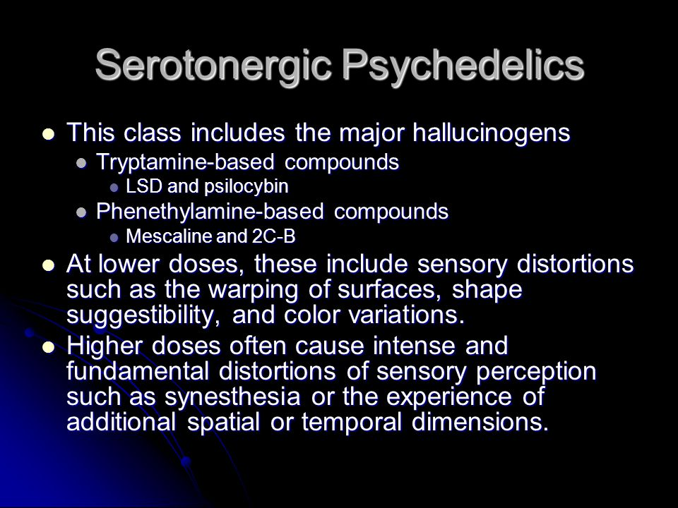Drugs of Abuse: Psychedelic Agents - ppt video online download