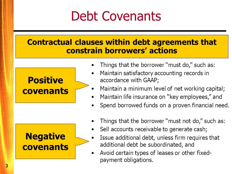 Long Term Debt And Leasing Ppt Video Online Download