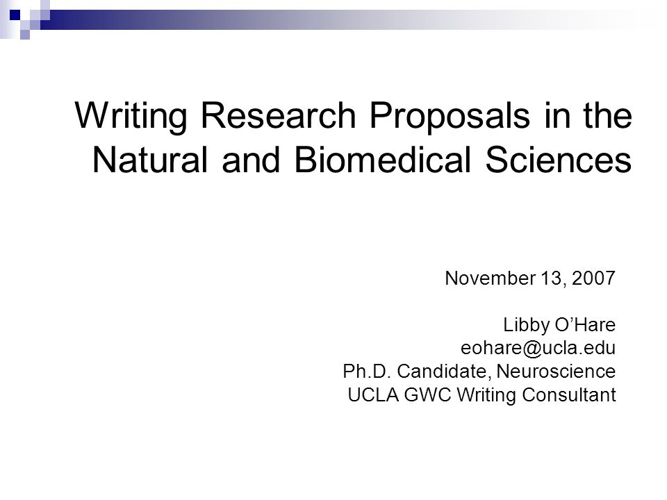 how to make a research proposal for phd