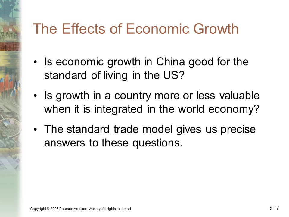 effects of economic growth