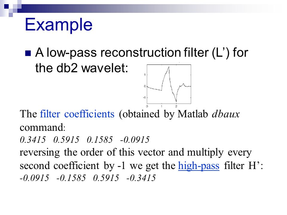 Introduction to Wavelets - ppt video online download