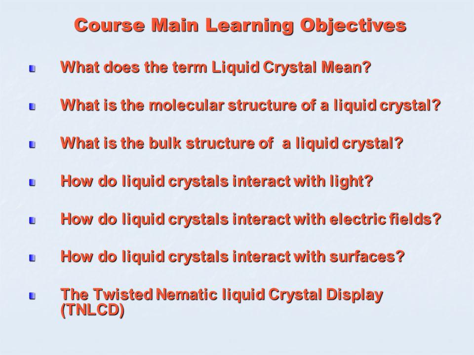 Design And Properties Of Molecular Materials Liquid Crystals Ppt
