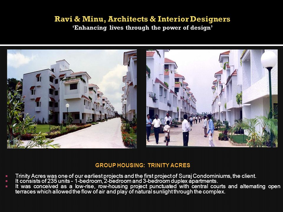 GROUP HOUSING: TRINITY ACRES