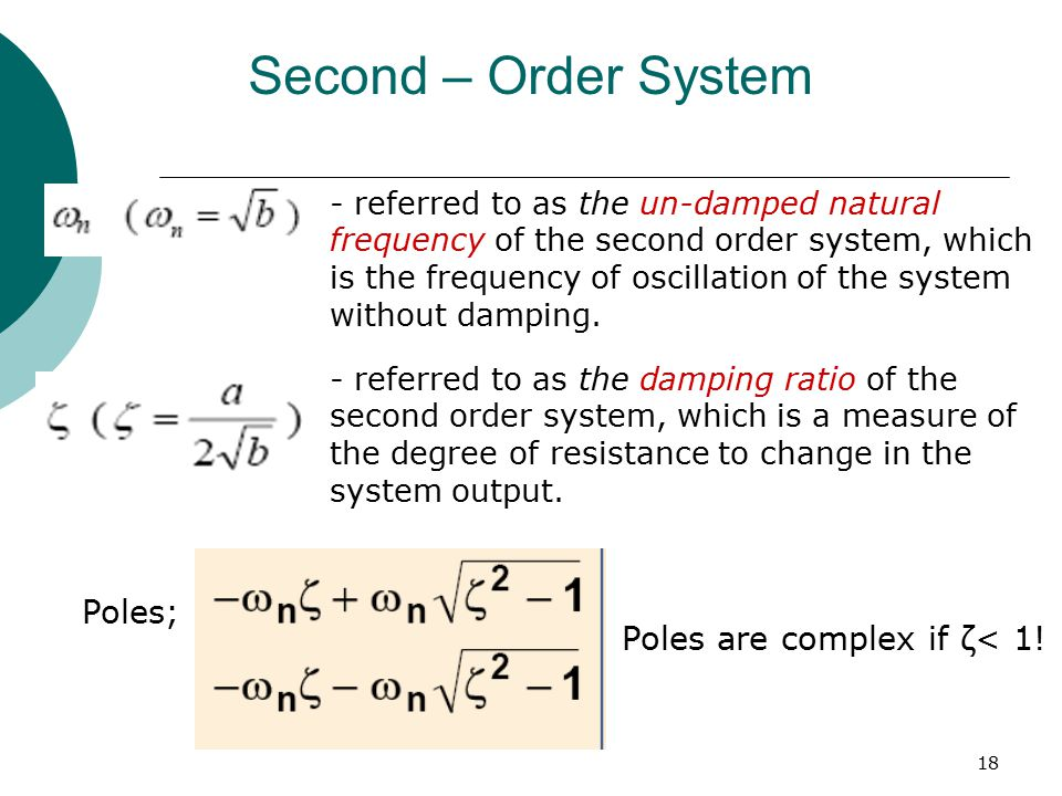 Transient Steady State Response Analysis Ppt Video Online Download