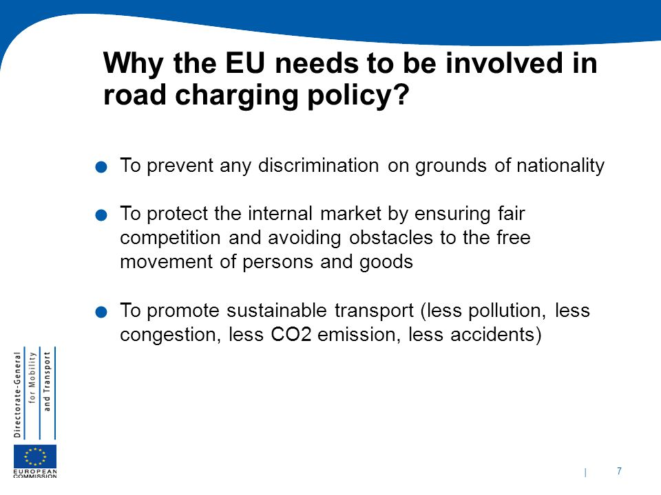 Why the EU needs to be involved in road charging policy