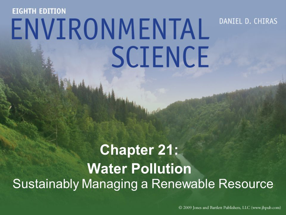 Chapter 21: Water Pollution