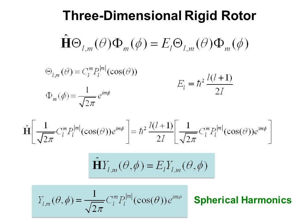 Three-Dimensional Rigid Rotor